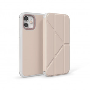 iPhone 12 / 12 Pro (6.1-inch) 2020 - Origami Folio Case - Dusty Pink