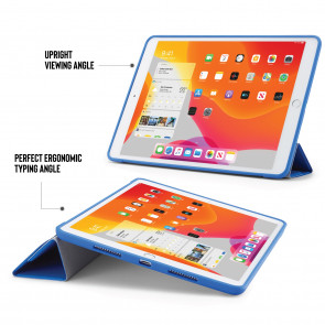 iPad 10.2 (7th & 8th Generation) Origami Case (TPU) - Royal Blue
