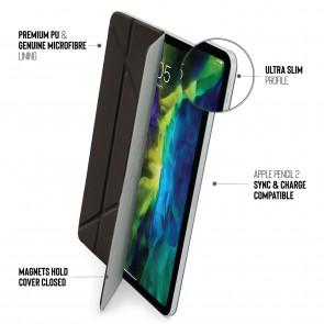 iPad Pro 12.9 Origami Folio Case (3rd and 4th Gen) - Black