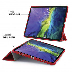 iPad Pro 11 Origami Case (1st and 2nd Gen) - Red
