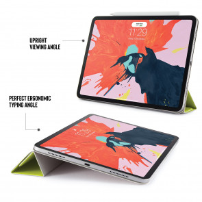 iPad Pro 11 (1st Gen) Origami Folio 5-in-1 Case - Pistachio Yellow