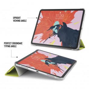 iPad Pro 11 (1st gen) Case Origami Luxe - Pistachio & Clear