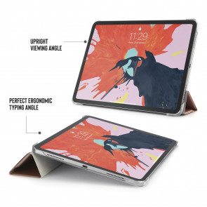 iPad Pro 11 (1st gen) Case Origami - Rose Gold & Clear