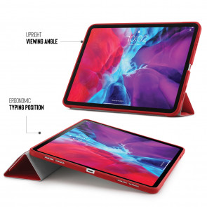 iPad Pro 12.9 Origami Case (3rd and 4th Gen) - Red