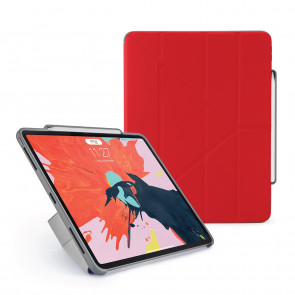 Pipetto 12.9-inch iPad Pro Origami Pencil Red - Hero