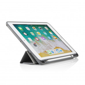 iPad 9.7 Origami Pencil Shield Case 5th & 6th Generation - Grey