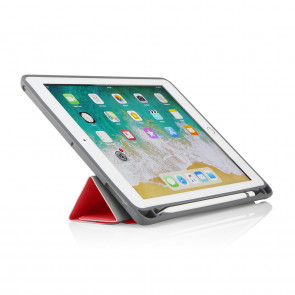 iPad 9.7 Origami Pencil Case 5-in-1 Ruggedised Case - Red