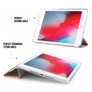 iPad mini 5 / iPad Mini 4 Origami Metallic TPU Case - Gold & Clear