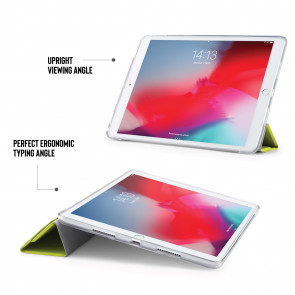 iPad Air 10.5 / Pro 10.5 TPU Luxe Origami - Pistachio & Clear