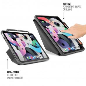 iPad Air 10.9 (iPad Air 4) Origami Pencil Shield Case - Black