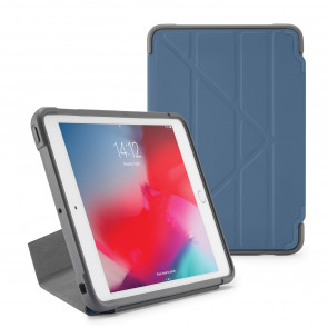 Pipetto iPad mini 5 / iPad mini 4 Origami Shield Case Navy - Front
