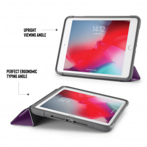 iPad mini 5 / iPad mini 4 Origami Shield Case - Purple