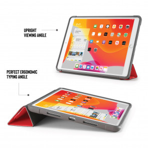 iPad 10.2 Origami Shield Case 7th Generation - Red