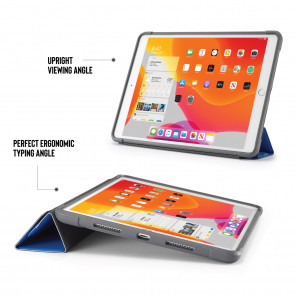 iPad 10.2 (7th & 8th Generation) Origami Shield Case - Royal Blue