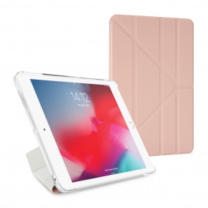Pipetto iPad mini 5 / iPad mini 4 Origami Luxe Dusty Pink - Front
