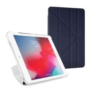 Pipetto iPad Mini 4 Origami Luxe Navy - Front