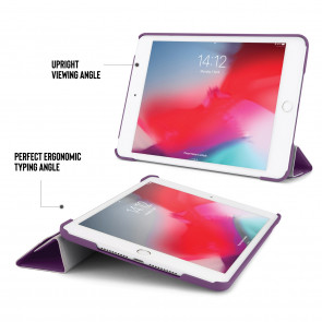 iPad mini 5 / iPad mini 4 Origami Case - Purple