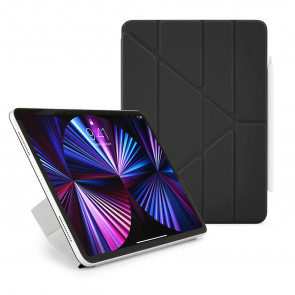Pipetto iPad Pro 9.7 Origami Case Black - back exterior
