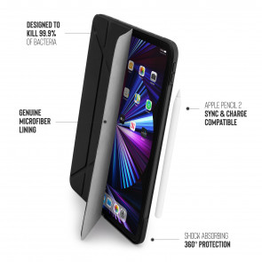 iPad Pro 11 (1st, 2nd & 3rd) Origami No1 Original TPU Case - Black