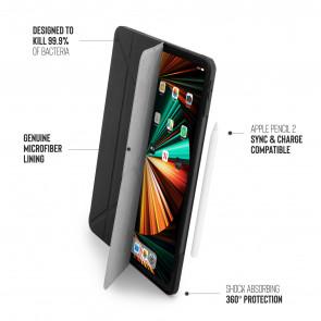 iPad Pro 12.9 (3rd, 4th & 5th) Origami No1 Original TPU Case - Black