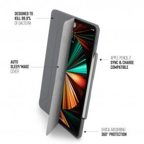 iPad Pro 12.9 (3rd, 4th & 5th Gen) Origami No3 Pencil Case - Dark Grey