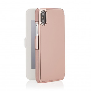 iPhone X/XS Slim Wallet - Pink & Rose Gold - Mirror (Online Exclusive)