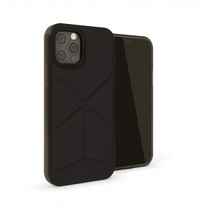 iPhone 12 (5.4)-Origami Snap-Black-overview
