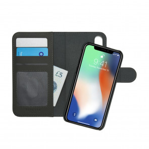 iPhone X/XS Wallet Case [LRG] Magnetic - Dark Grey
