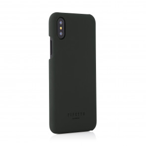 iPhone xs shell dark grey - back angle