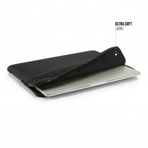 13 Inch Organiser MacBook Sleeve - Black