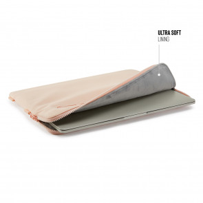 13 Inch Organiser MacBook Sleeve - Dusty Pink