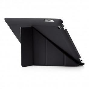 Pipetto iPad 2,3,4 Origami Case Black - Back exterior