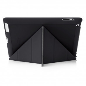 iPad 2, 3, 4 Origami Case - Black