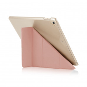 Pipetto iPad 9.7 (2017) Case Dusty Pink Origami Luxe - front