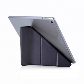 Pipetto iPad 9.7 (2017) Case Navy Origami Luxe - front