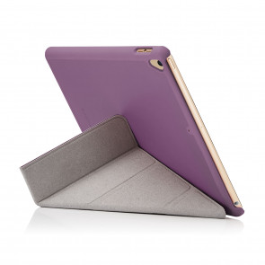 iPad 9.7 (2017) Case Origami - Purple (Air 1 Compatible)
