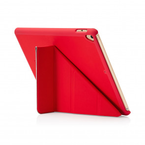Pipetto 9.7-inch 2017 iPad Origami Original Red - back exterior