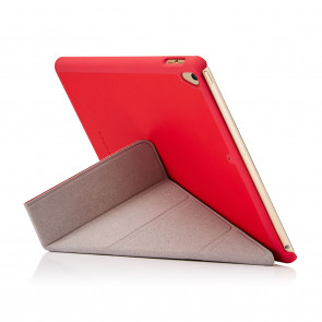 iPad 9.7 (2017) Case Origami - Red (Air 1 Compatible)