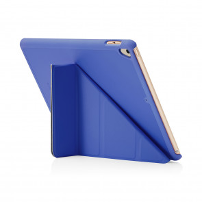 Pipetto iPad 9.7 Origami Royal Blue - front