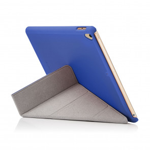 iPad 9.7 (2017) Case Origami - Royal Blue (Air 1 Compatible)