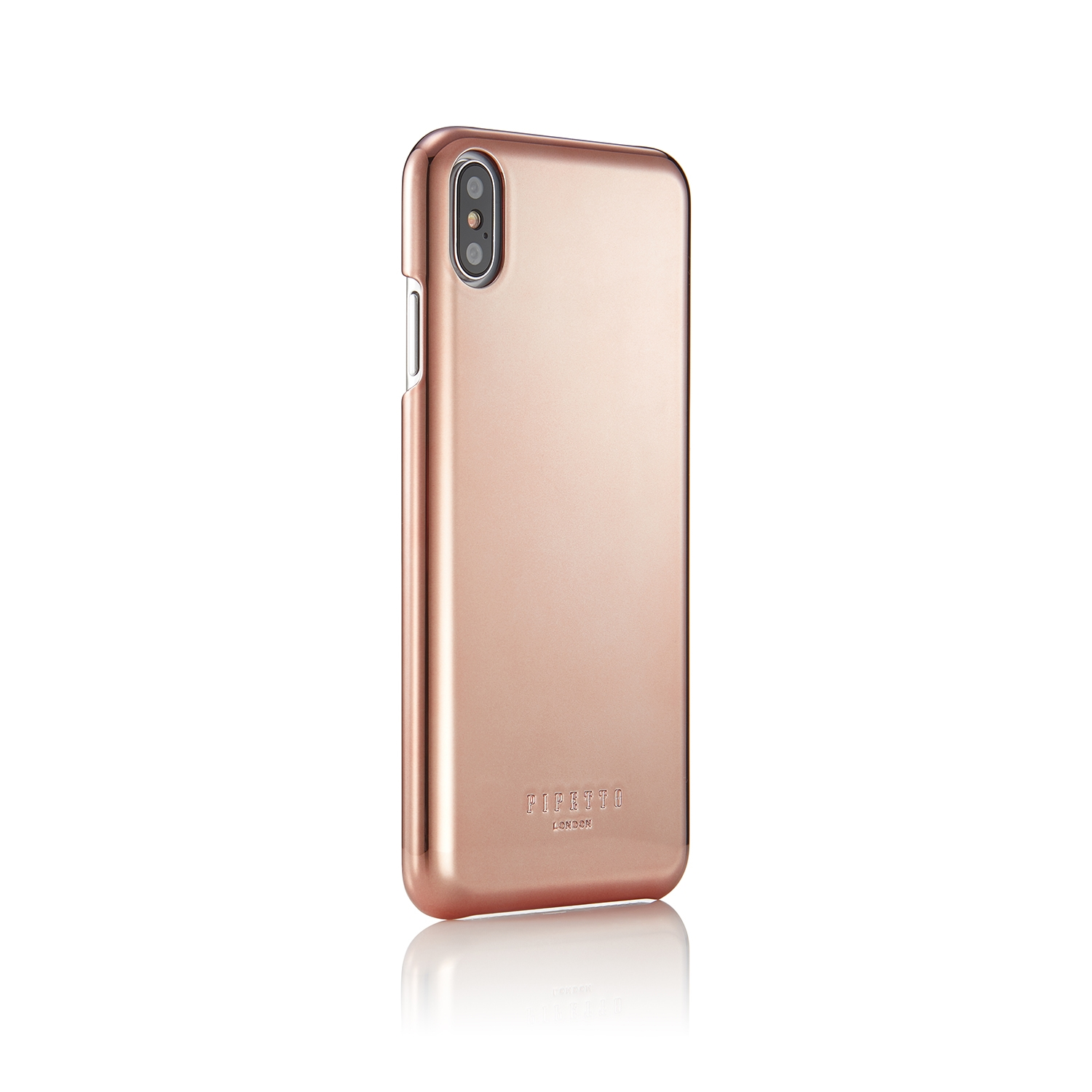 Iphone Xs Max Rose Gold Shell Snap Case Magnetic Rose Gold