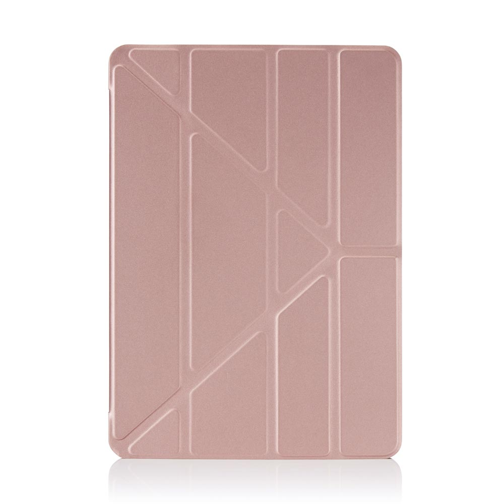 d01f9e21d34 Pipetto Origami iPad Pro 9.7 Clear Back case with Rose Gold Smart cover