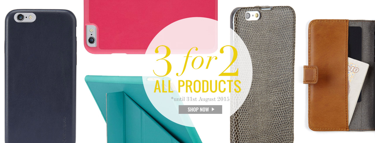 3 For 2 Offer August 2015