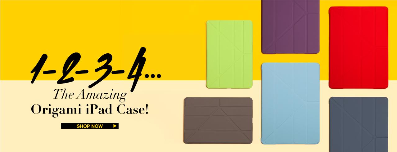iPad Origami cases