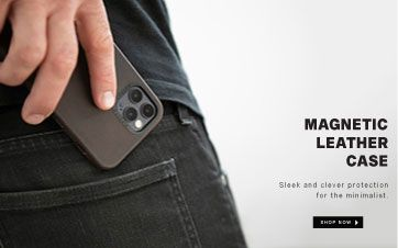 Leather Magnetic iPhone 12 Case