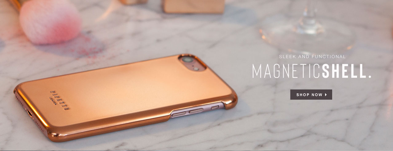 Shop Magnetic Rose Gold iPhone Cases